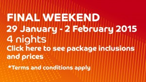 Final Weekend package